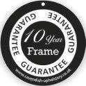 10 year frame guarantee