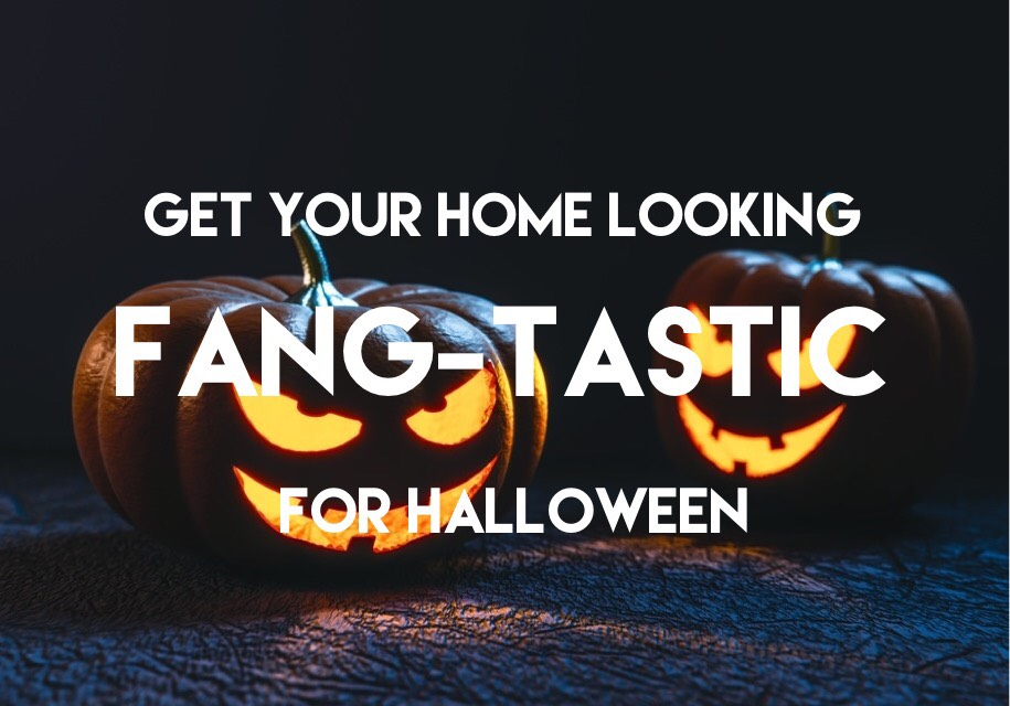 get your home looking fang-tastic for halloween
